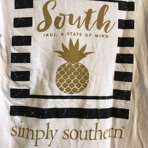 Small size, long sleeve, Simply Southern t-shirt.